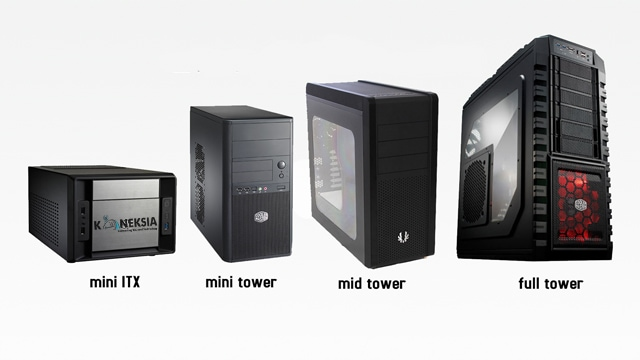 Macam Jenis Ukuran casing PC Komputer Gaming