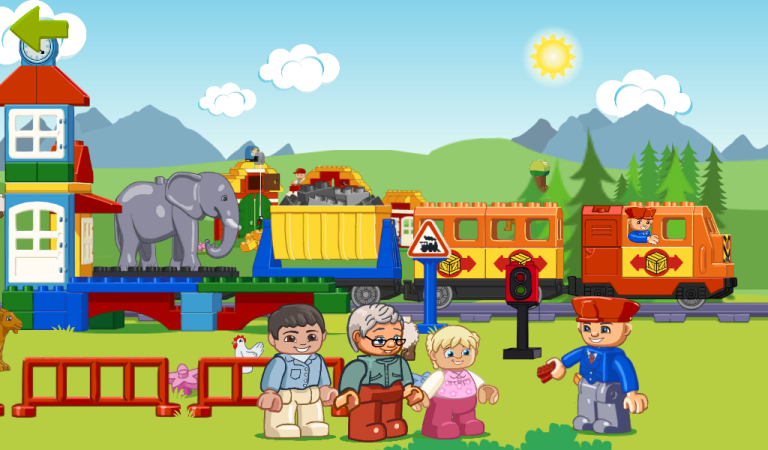 Lego Duplo Train Game Edukasi Anak