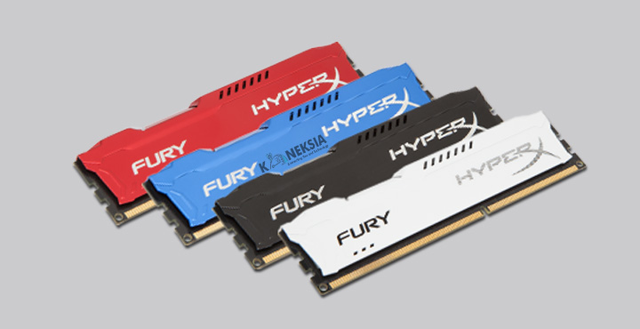 Merk RAM Terbaik Kingston HyperX Fury Gaming