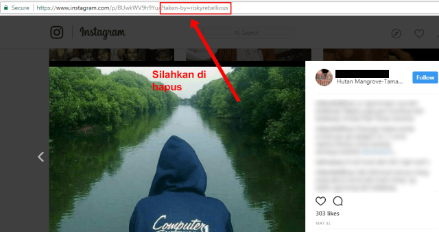 Cara Download Foto atau Video Instagram di PC dengan Dinsta