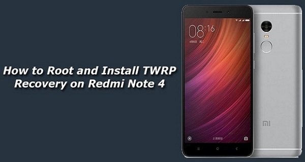 How To Cara Root dan Install TWRP Recovery Xiaomi Redmi Note 4 MTK